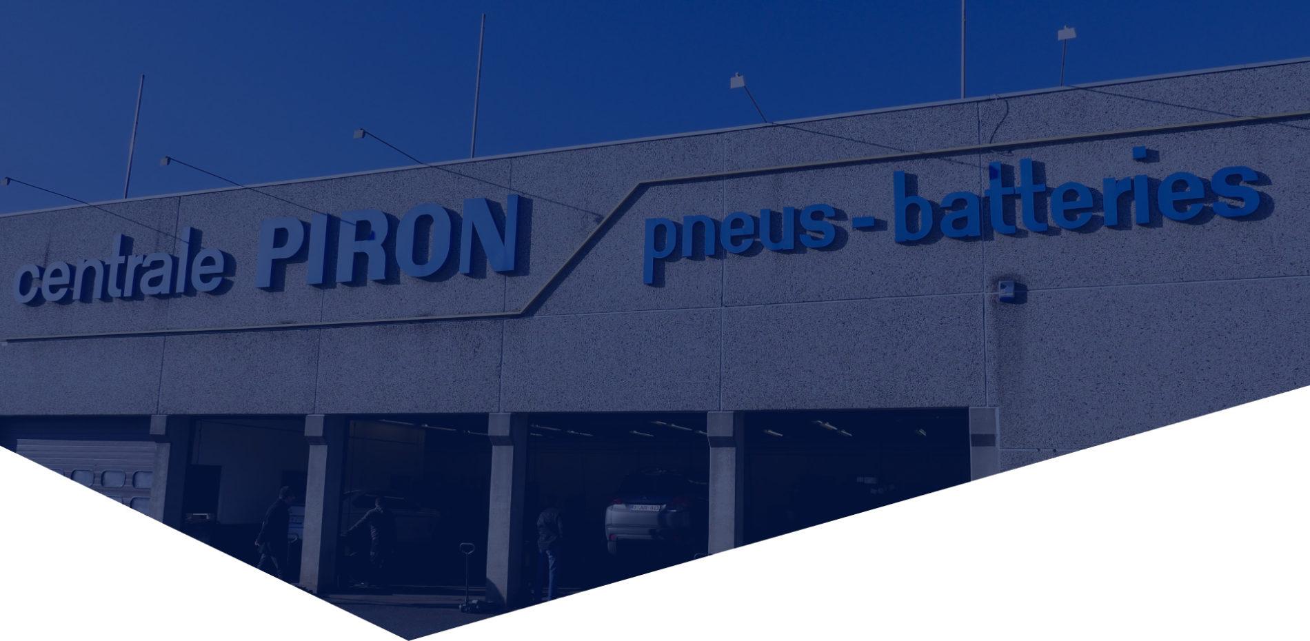 Centrale Piron - Votre partenaire en montage de pneus